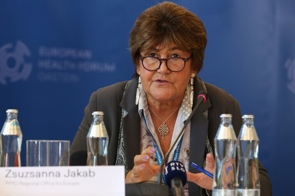 EHFG 2016 Archive - Zsuzsanna Jakab WHO Europe